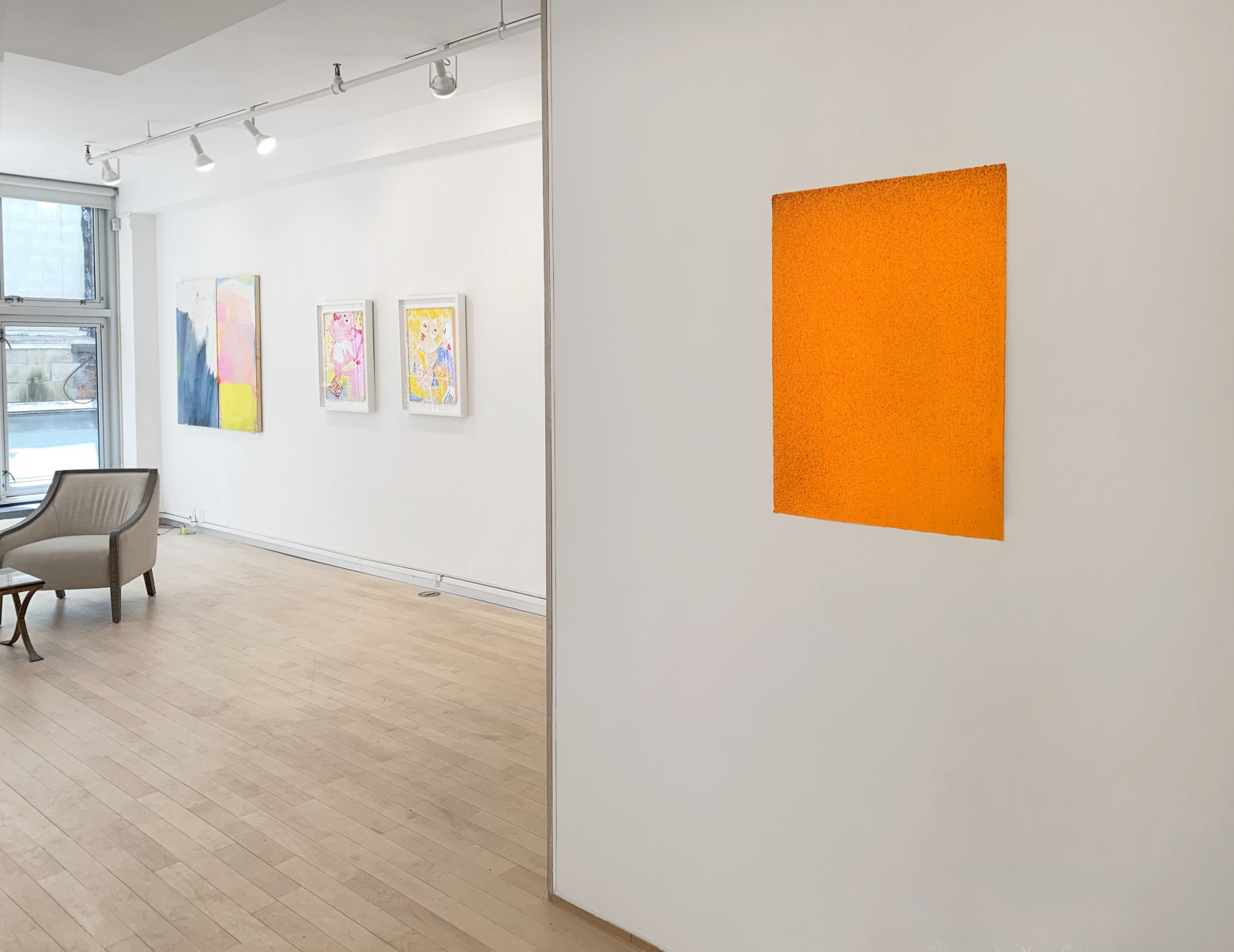 Installation view: Taggart Times 7