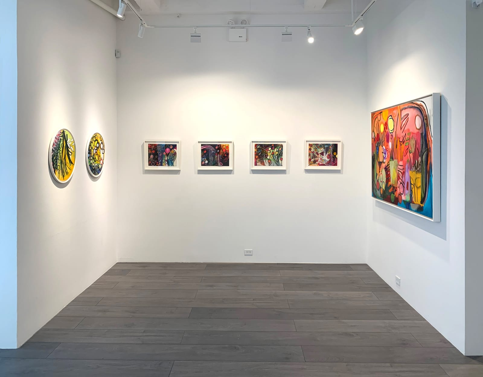 Installation view: Bill Scott: A Prolonged Moment