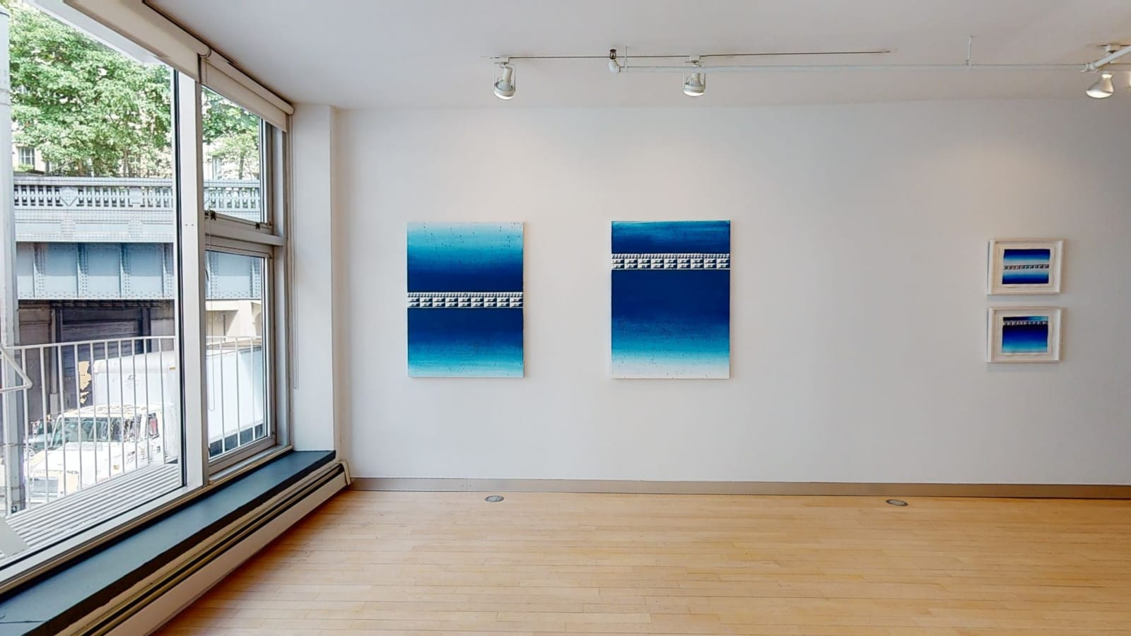 Installation view: Perceived Realities