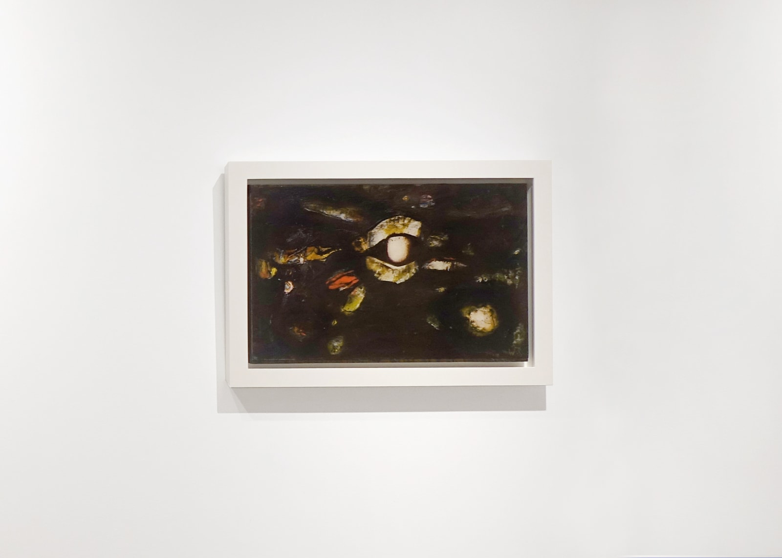 Lid's Night, 1964, Oil on paper mounted to board, 12 1/2 x 19 1/2 inches