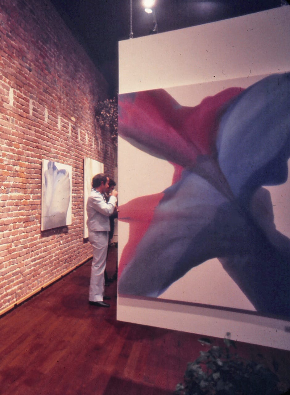 Installation view: Irene Monat Stern, Source Gallery, San Francisco, 1975.