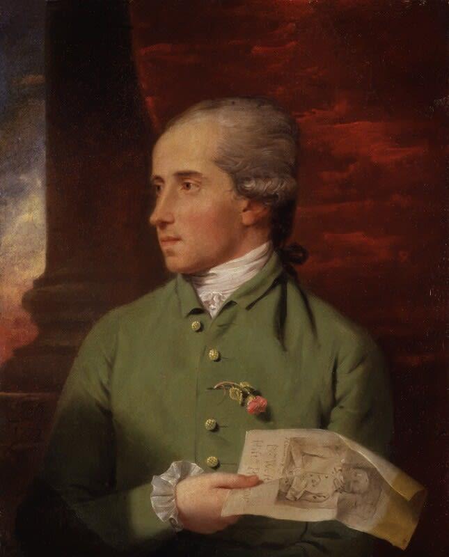 (Fig. 1) John Downman Benjamin West 1777 © National Portrait Gallery, London