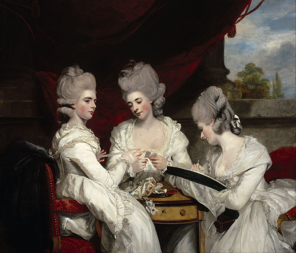(Fig. 3) Joshua Reynolds The daughters of the 2nd Earl Waldegrave 1780-81 © Scottish National Museum