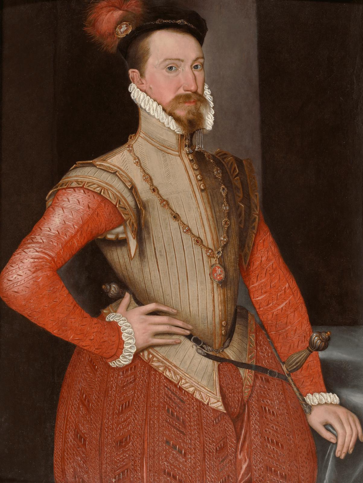 [Fig. 5] Workshop of Steven van der Meulen, Robert Dudley, Earl of Leicester (1532–1588), c. 1562.