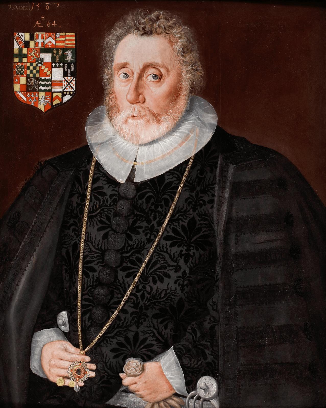 Fig. 7. Robert Peake the Elder, Richard Wingfield, 1587.