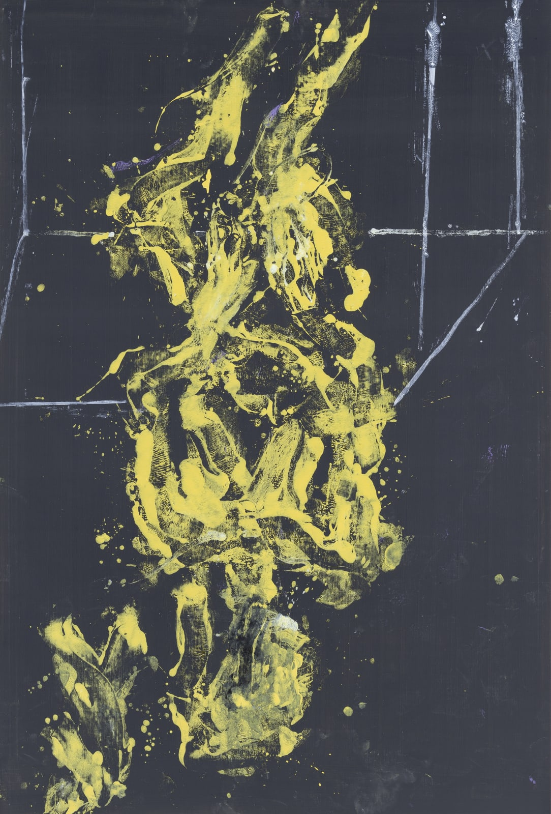 """<a href=""""/content/feature/630/detail/artworks12496/"""" class=""""pageload-link-type-popup-enabled-content""""><div class=""""artist"""">Georg Baselitz</div><div class=""""title_and_year""""><span class=""""title"""">Bei Vollmond</span><span class=""""year"""">, 2020</span></div><div class=""""medium"""">Oil on canvas</div><div class=""""dimensions"""">250 x 170 cm (98.4 x 66.9 inches)</div></a>"""