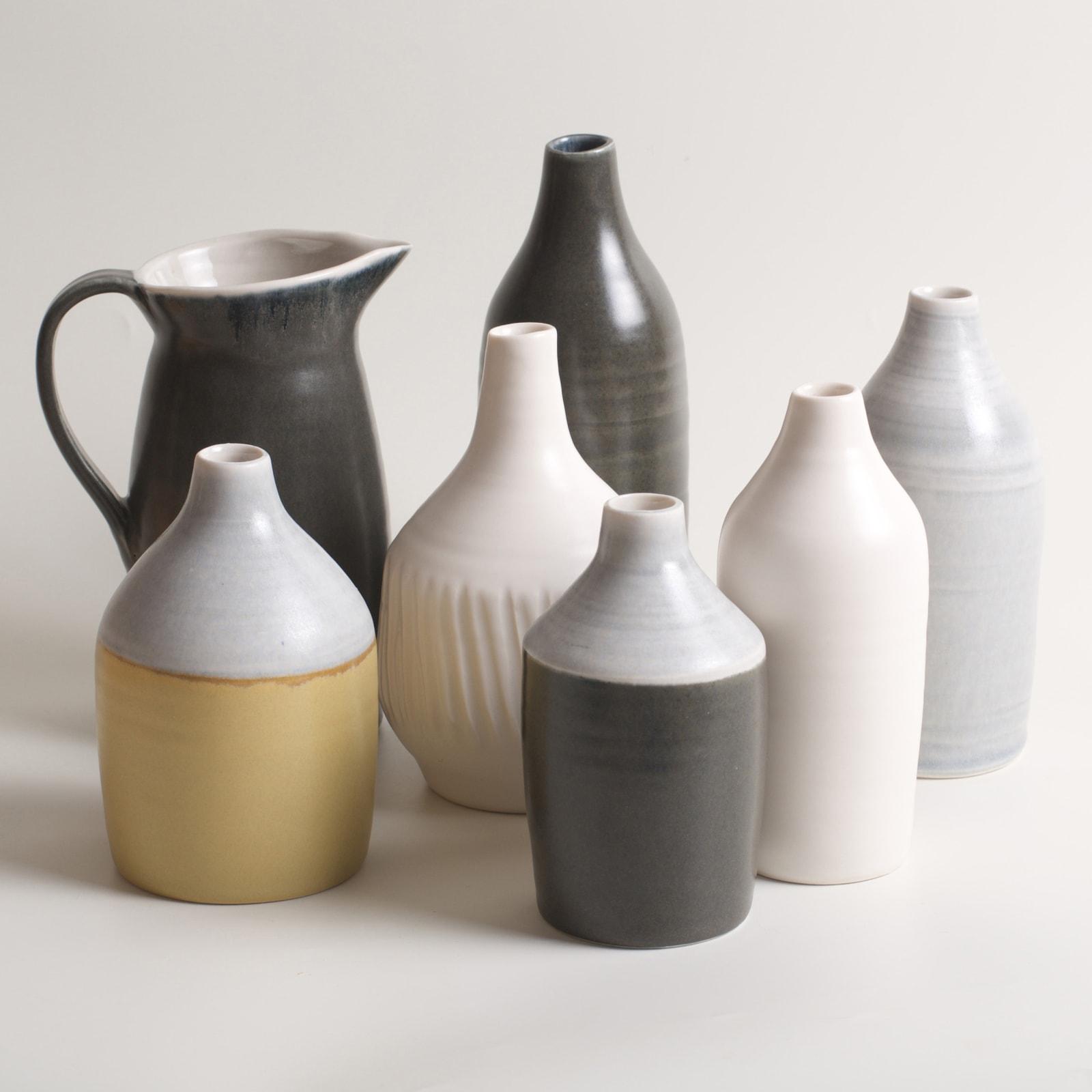 Linda Bloomfield, thrown porcelain vessels