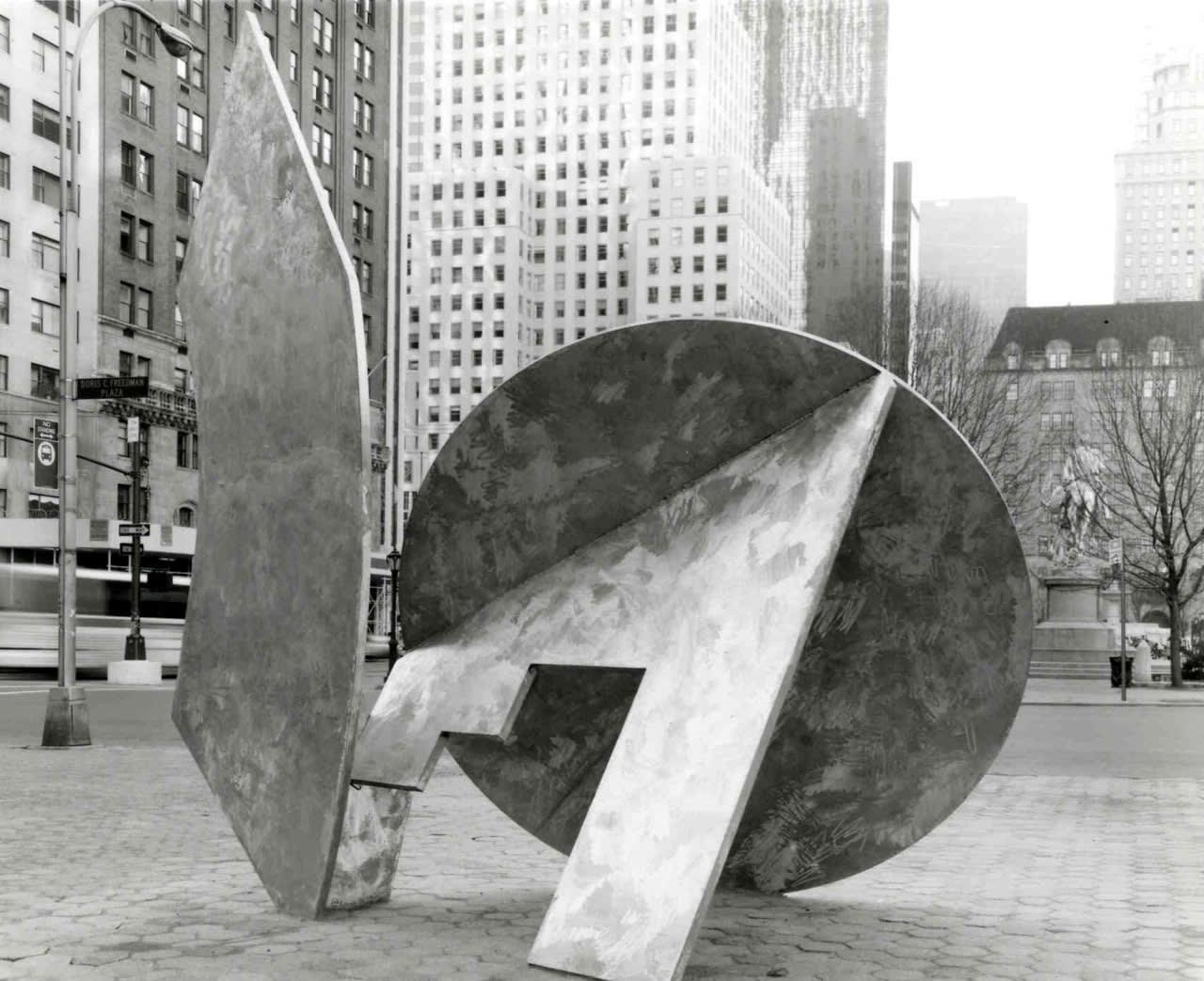 "<div class=""additional_caption"">'Tomorrow's Wind', 1991. Doris C. Freedman Plaza, New York</div>"