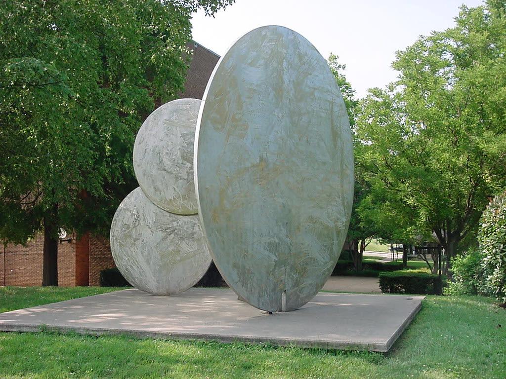 "<div class=""additional_caption"">'Southern Sunrise', 1983. Installed at Winston-Salem State University, Diggs Gallery Winston-Salem, Forsyth County, North Carolina</div>"