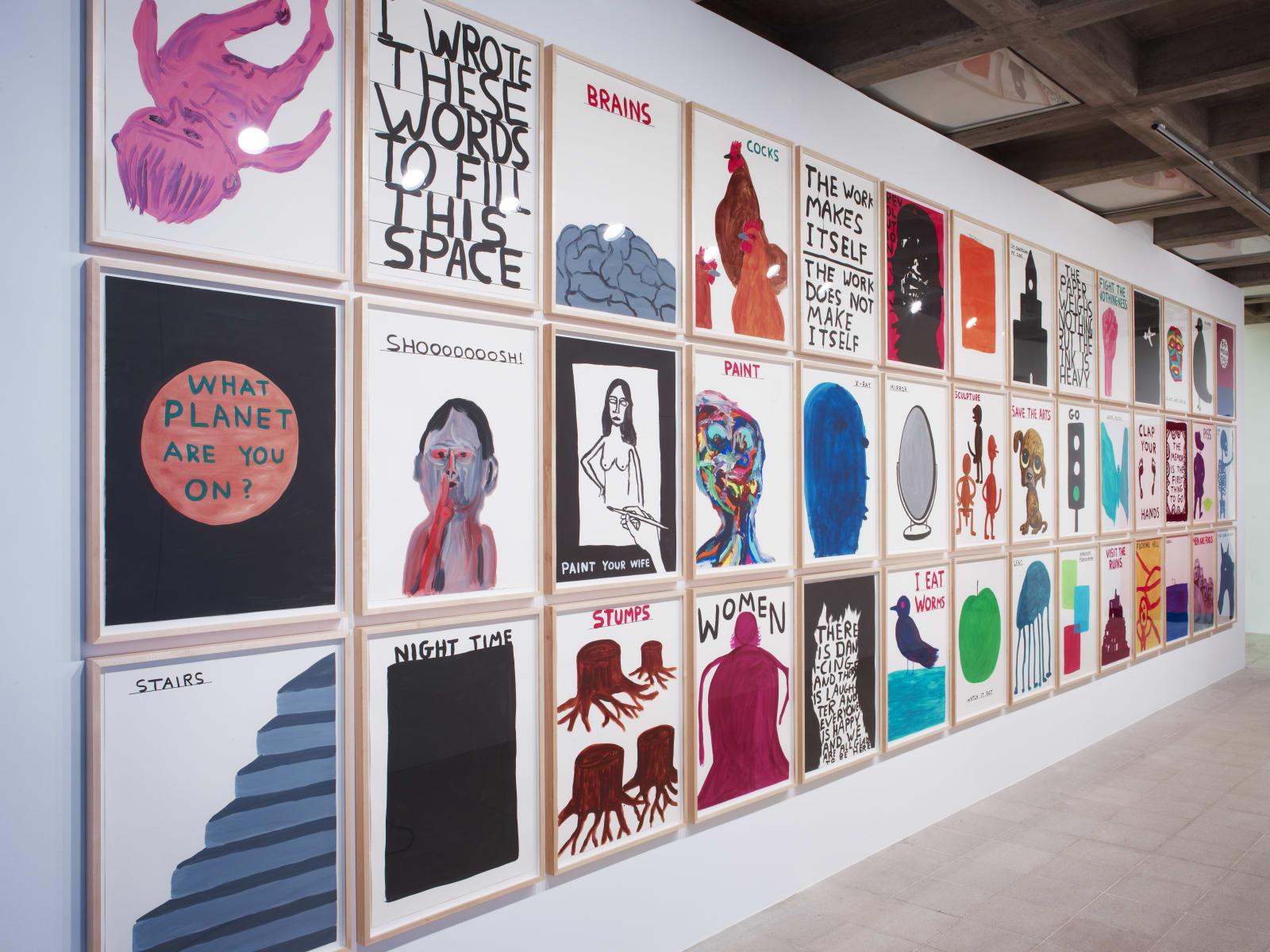 <p>Installation view:'Brain Activity', Hayward Gallery, London; touring to Yerba Buena Centre for the Arts, San Francisco, CA (2012).</p>
