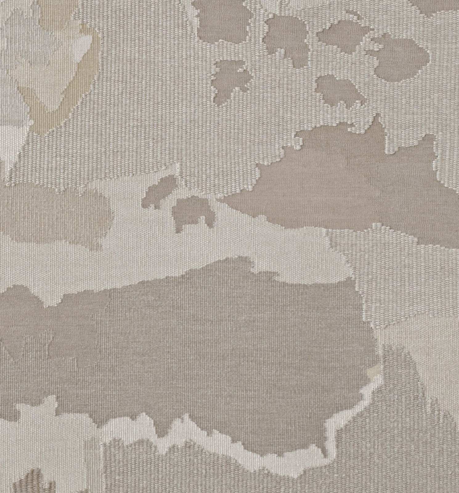 "<p>Andreas Eriksson, <em>Weissensee No. 7</em>, 2018. Detail.</p><h3>""Territories of the finished tapestries might be distinguished by a particular knotted texture or the stands of long fibre sprouting from the surface. Andreas has described the tapestries as 'existential landscapes'. We might also see them as a conceptual extension of painting in which the picture migrates to the canvas itself."" </h3><p><strong>- Hettie Judah on Andreas Eriksson, 2020</strong></p>"