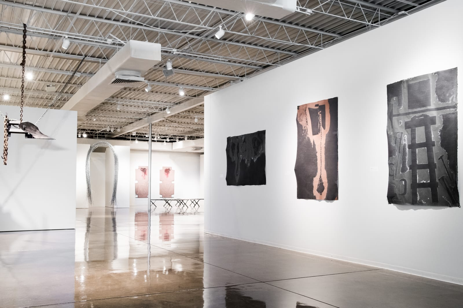 <p>Installation view: 'Melvin Edwards', Oklahoma Contemporary, Oklahoma City, Oklahoma (2016)</p>