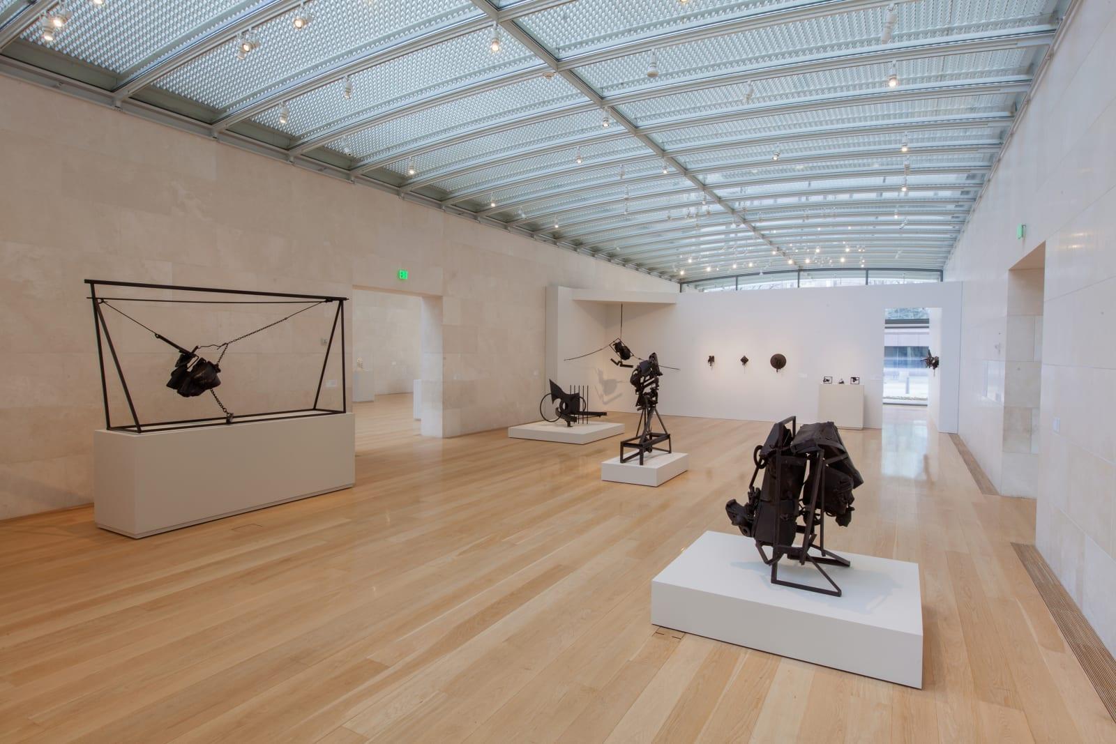 <p>Installation view:'Melvin Edwards: Five Decades', Nasher Sculpture Center, Dallas, Texas (2015)</p>