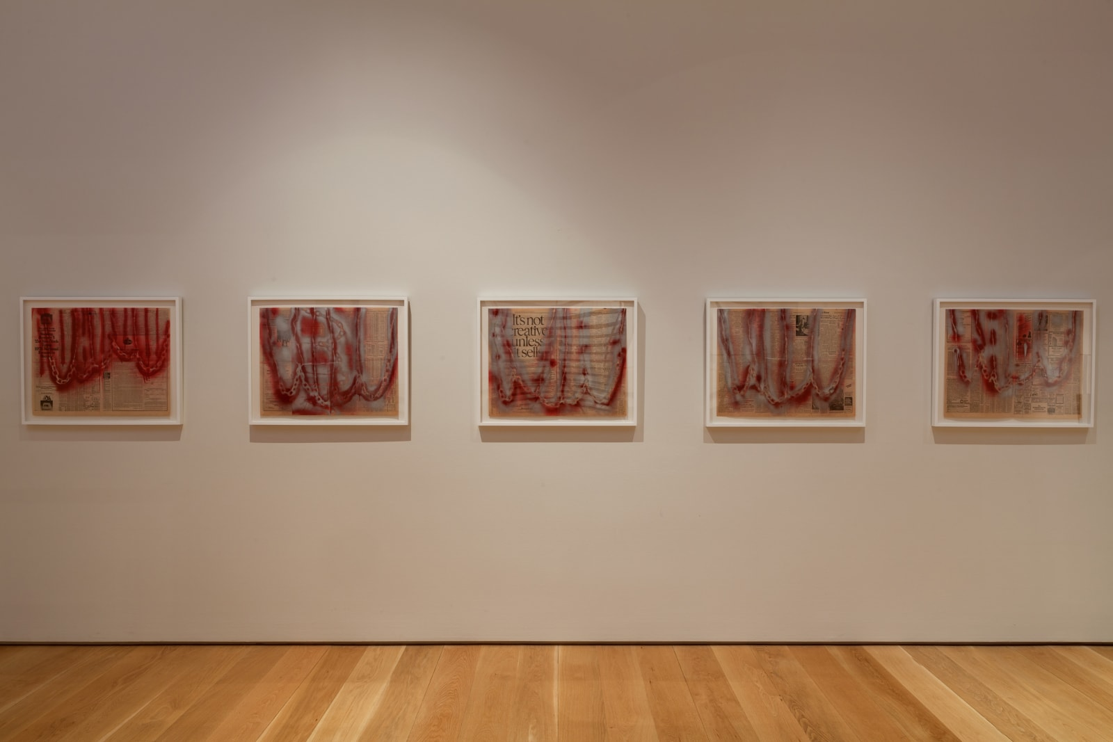 <p>Installation view: 'Melvin Edwards: Five Decades'<span>, Nasher Sculpture Center, Dallas, Texas (2015)</span></p>