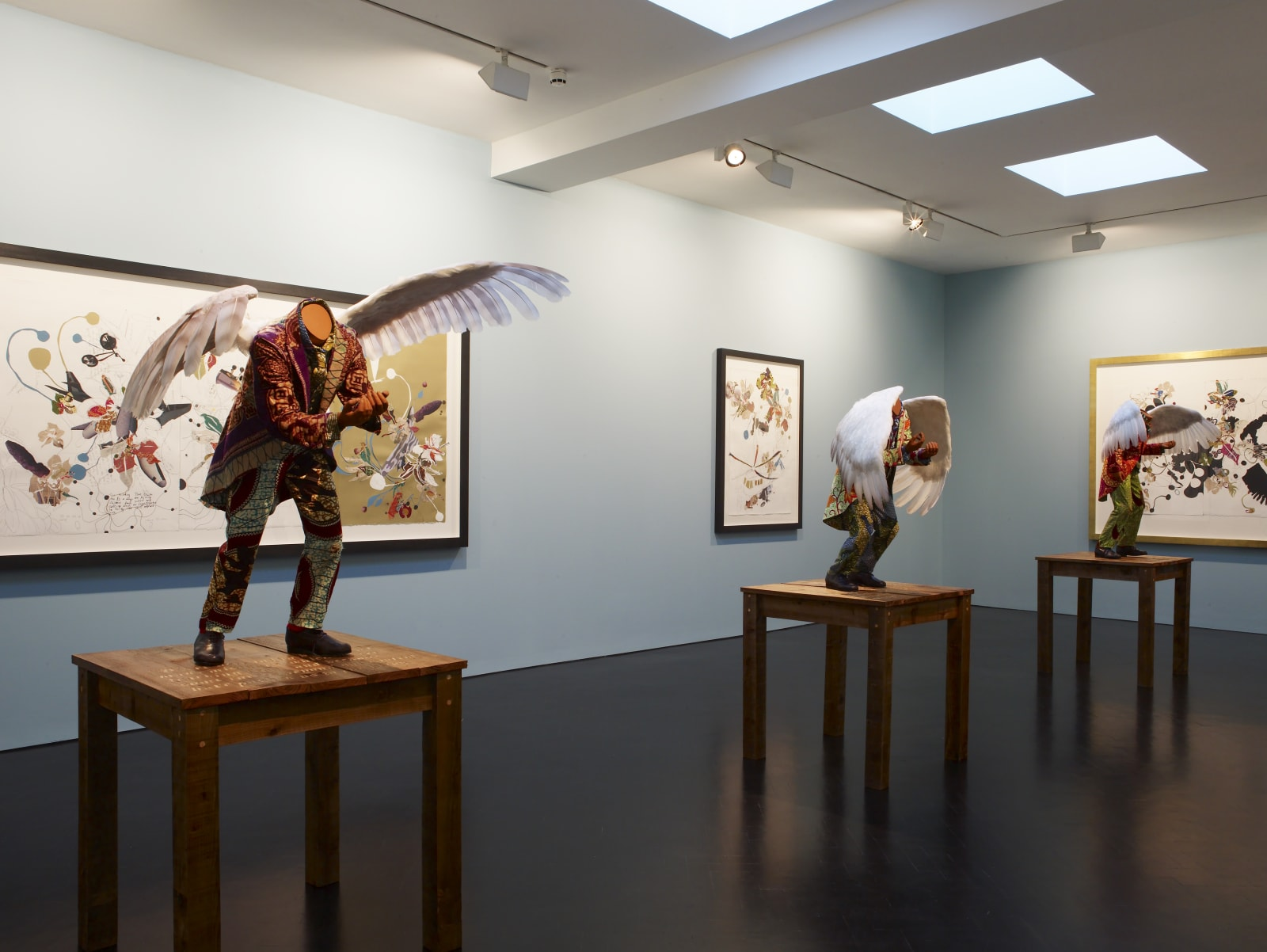 <p>Installation view: 'Willy Loman: The Rise and Fall'<i>,</i> Stephen Friedman Gallery, London (2009)</p>