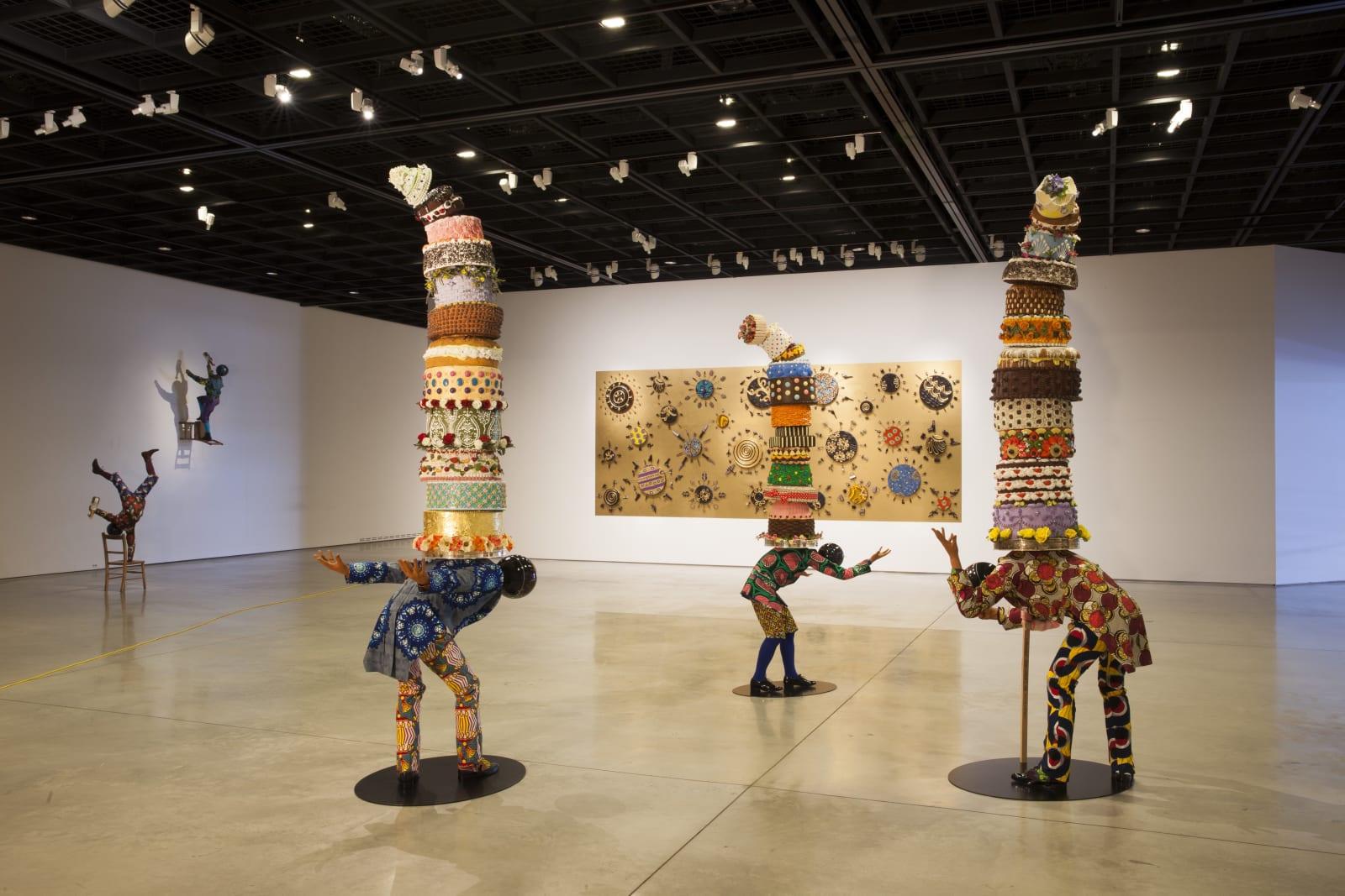 <p>Installation view: 'Yinka Shonibare MBE: Wilderness into a Garden', Daegu Museum, Daegu (2015)</p>