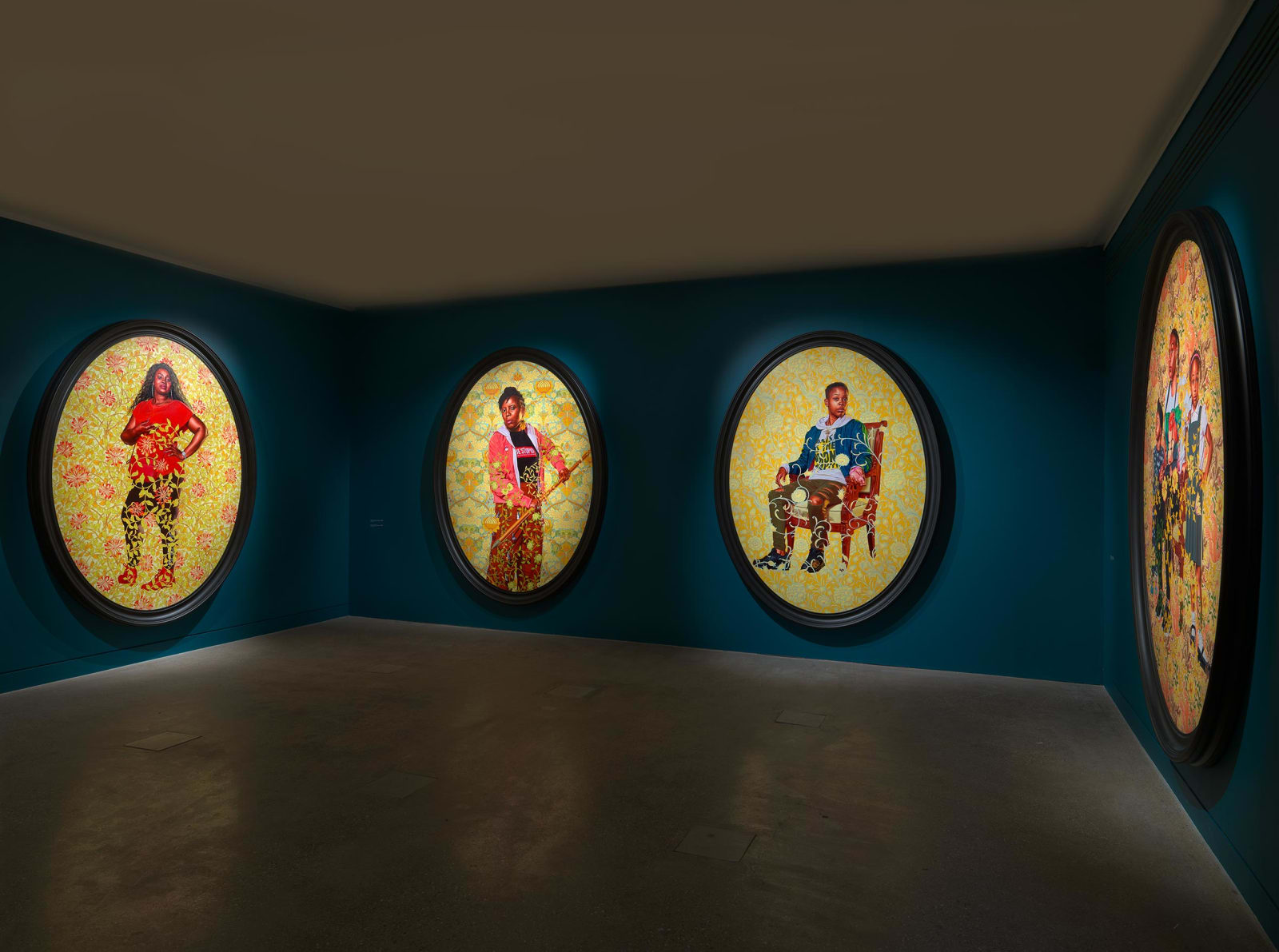 <p>Installation view: 'The Yellow Wallpaper', William Morris Gallery, London (2020)</p>