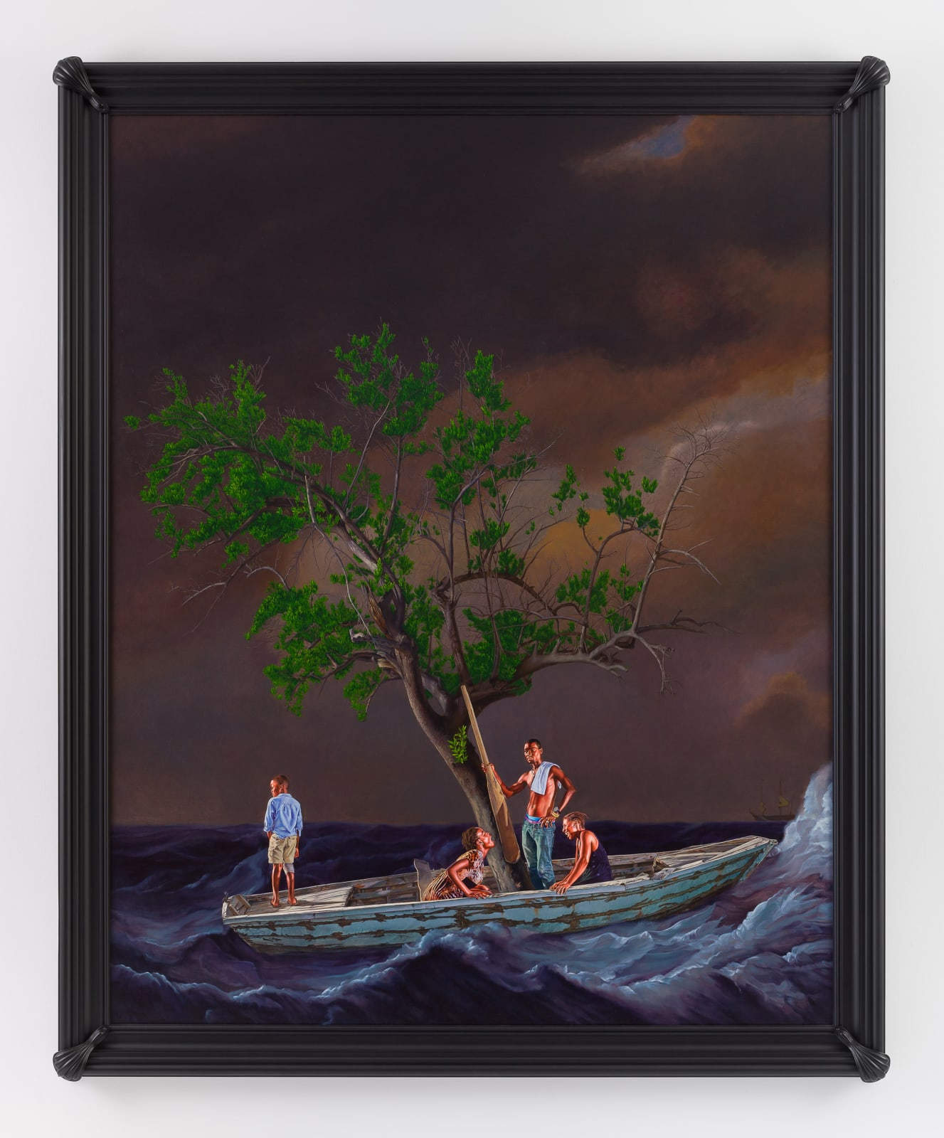 <p>Kehinde Wiley, 'Ship of Fools', 2017, Collection of the National Maritime Museum, London</p>