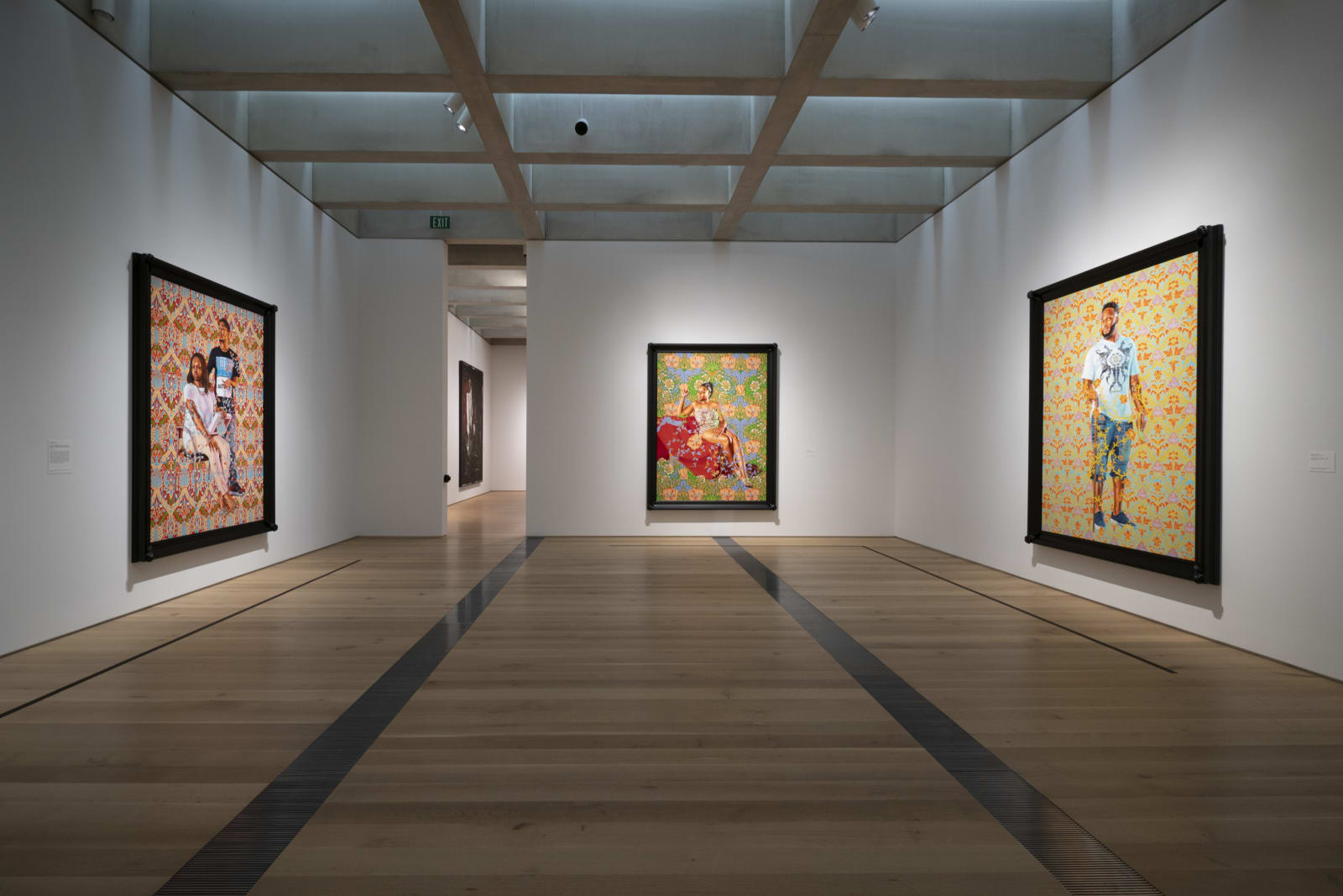 <p>Installation view: 'Kehinde Wiley: Saint Louis', Saint Louis Art Museum, Saint Louis, MO (2018-2019)</p>
