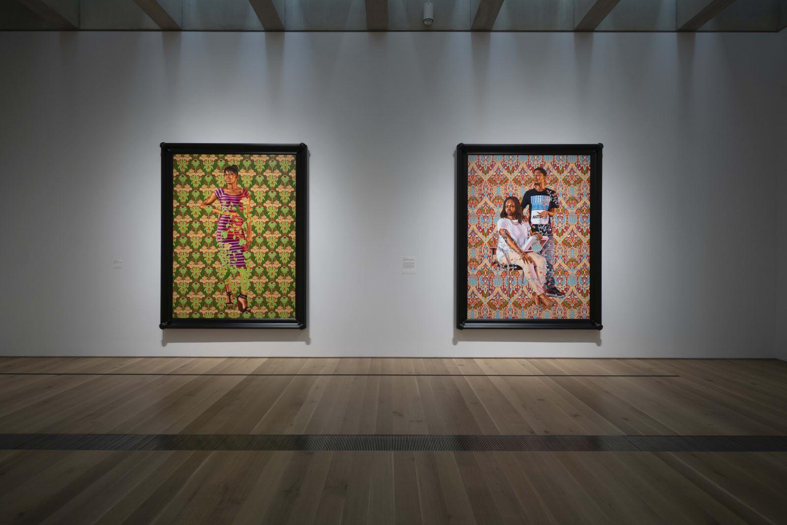 <p>Installation view: 'Kehinde Wiley: Saint Louis', Saint Louis Art Museum, Saint Louis, MO (2018-2019)</p>