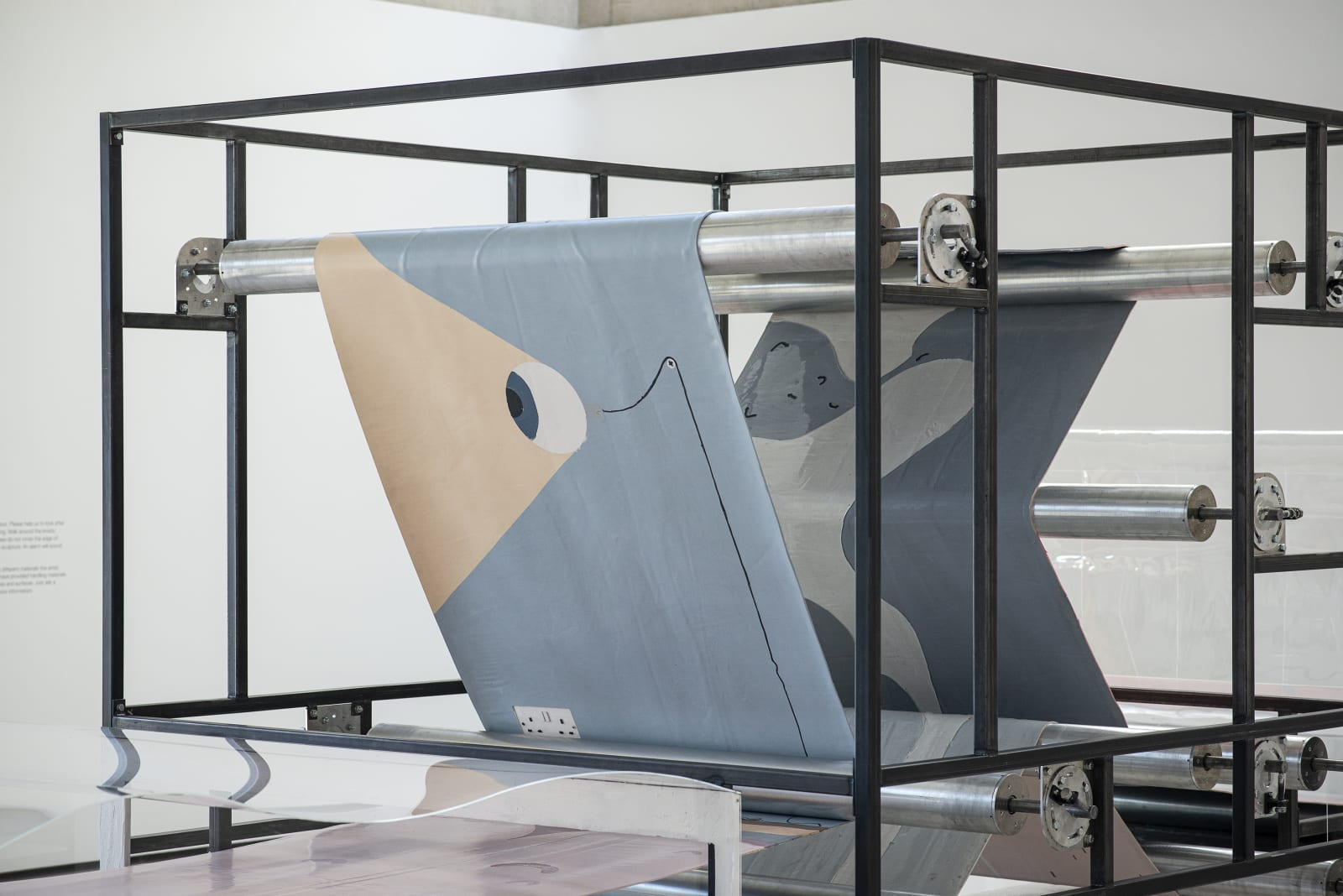 <p>Installation view: 'The Dump is Full of Images', Solo Exhibition, Weston Gallery, Yorkshire Sculpture Park, Yorkshire (2019).</p>