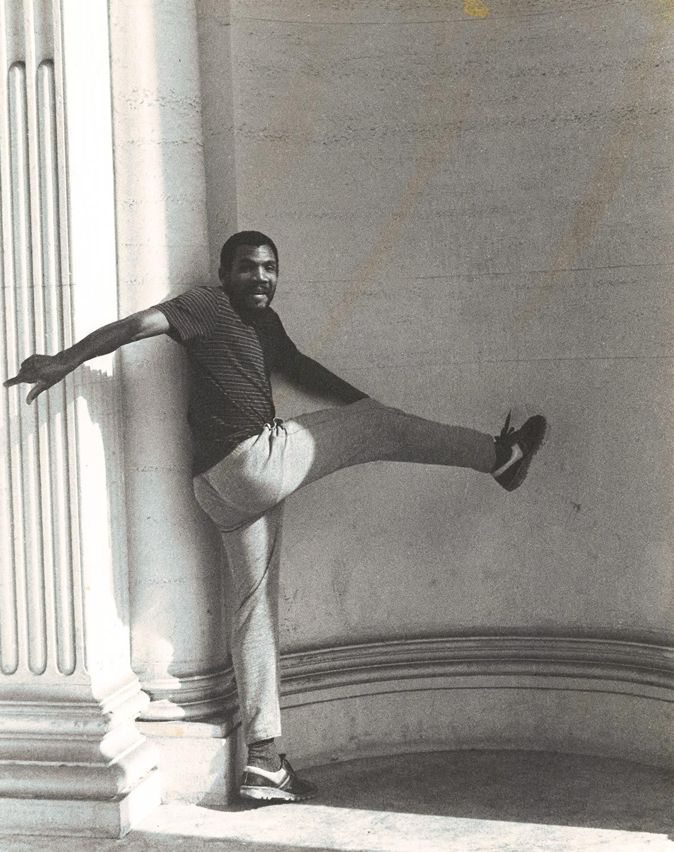 <p><span>Portrait of Denzil Forrester in Rome (1984).</span></p>