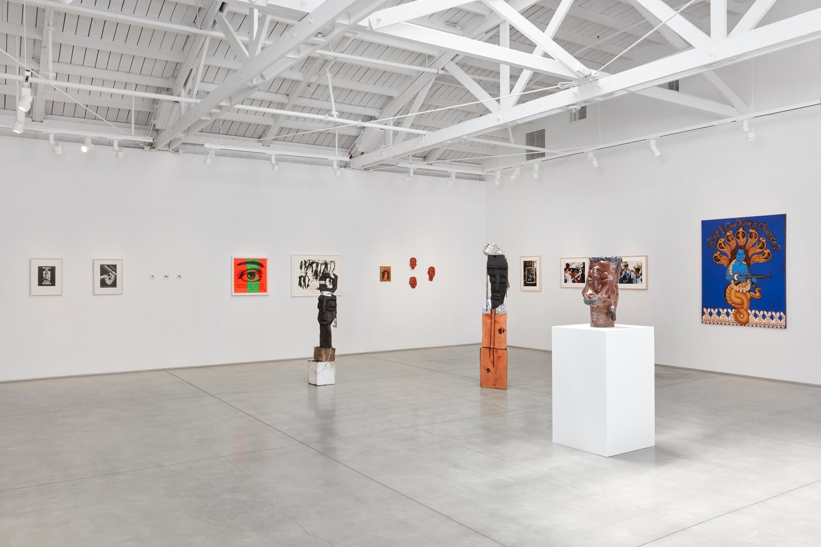 <p>Installation view: 'Did I Ever Have a Chance?', Group Exhibition, Marc Selwyn Fine Art in collaboration with Gordon Robichaux, Los Angeles, CA (2020). <span>Photo by Paul Salveson.</span></p>