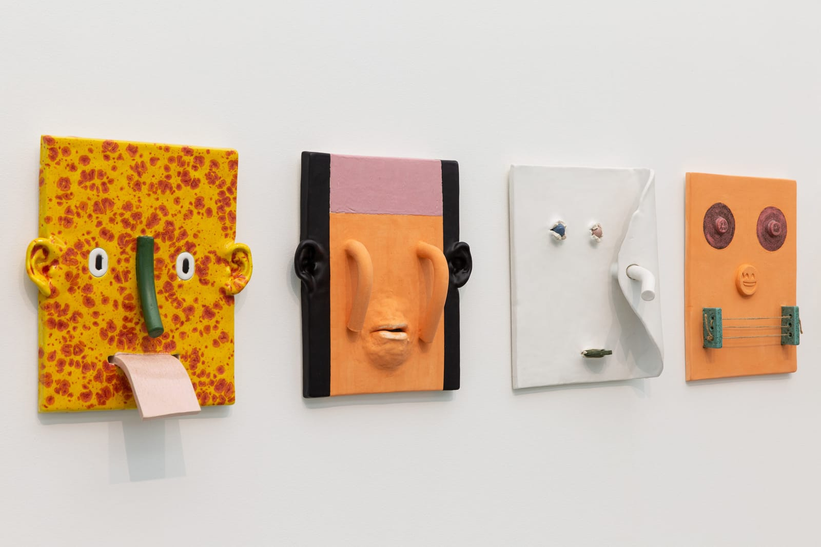 <p>Installation view: Towner International, Group Exhibition, Towner Art Gallery, Eastbourne (2020). <span>Photo by Rob Harris.</span></p>