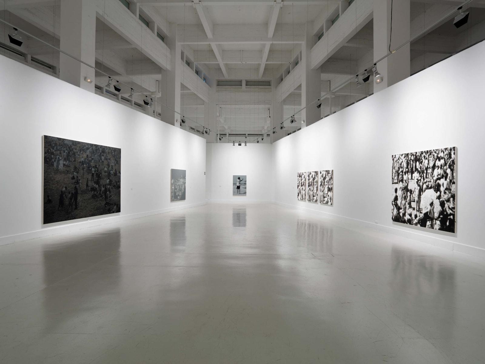 <p>Installation view:Wayne Gonzales, CAC Malága,Malága (2011).</p>