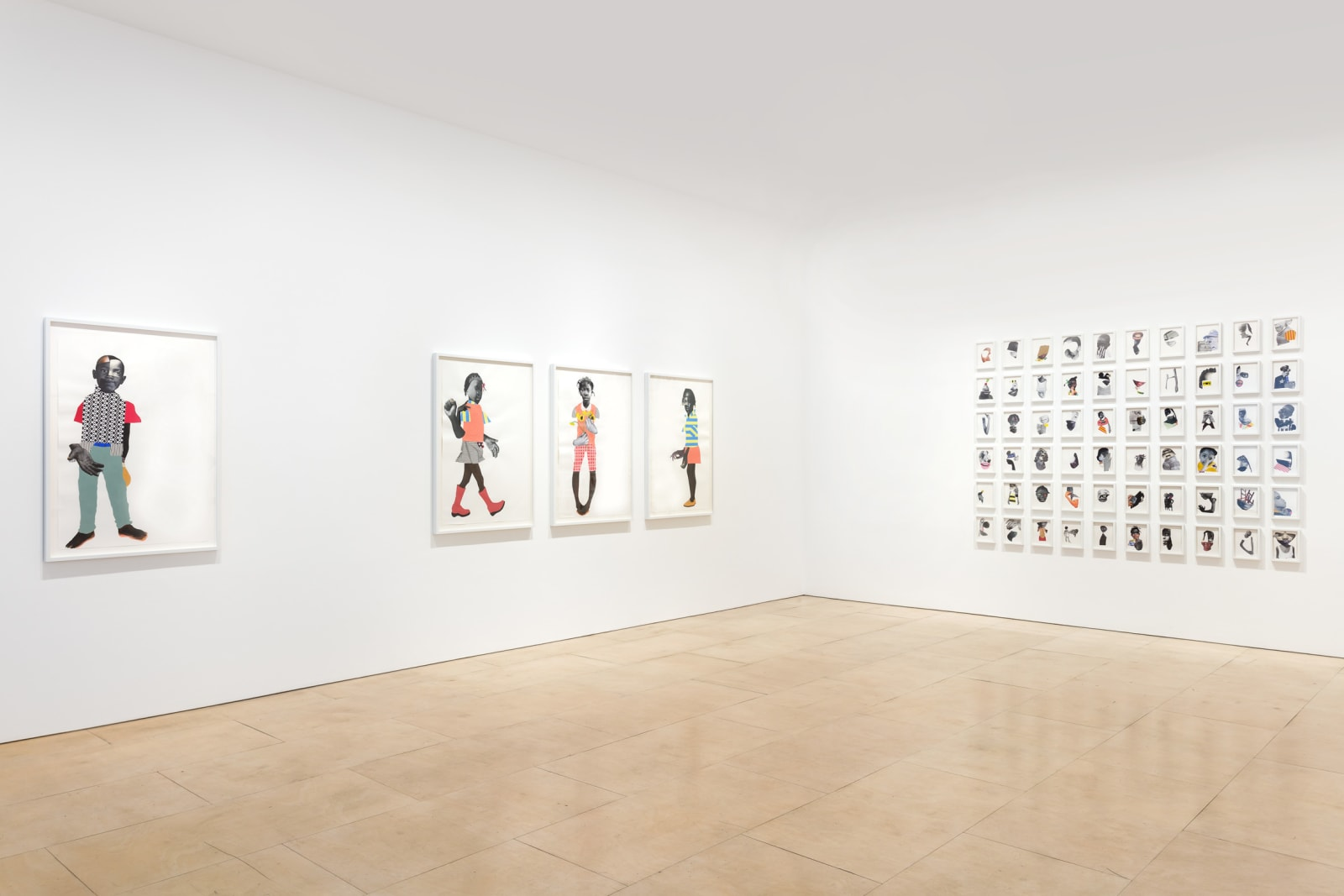 <p>Installation view: 'If they come', Stephen Friedman Gallery, London (2019).</p>