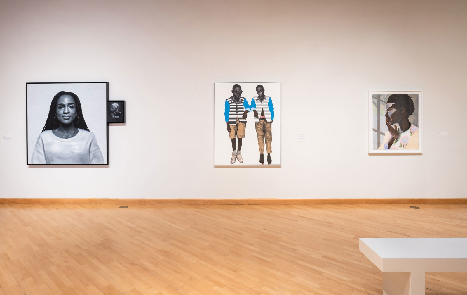 <p>Installation view: 'Plumb Line: Charles White and the Contemporary', Californian African American Museum (CAAM), Los Angeles, CA (2019).</p>