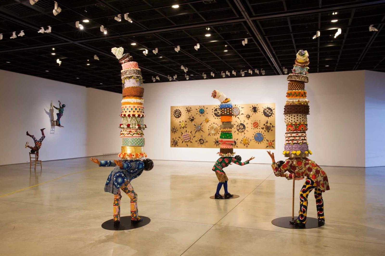 <p>Installation view: 'Yinka Shonibare MBE: Wilderness into a Garden', Daegu Museum, Daegu (2015).</p>