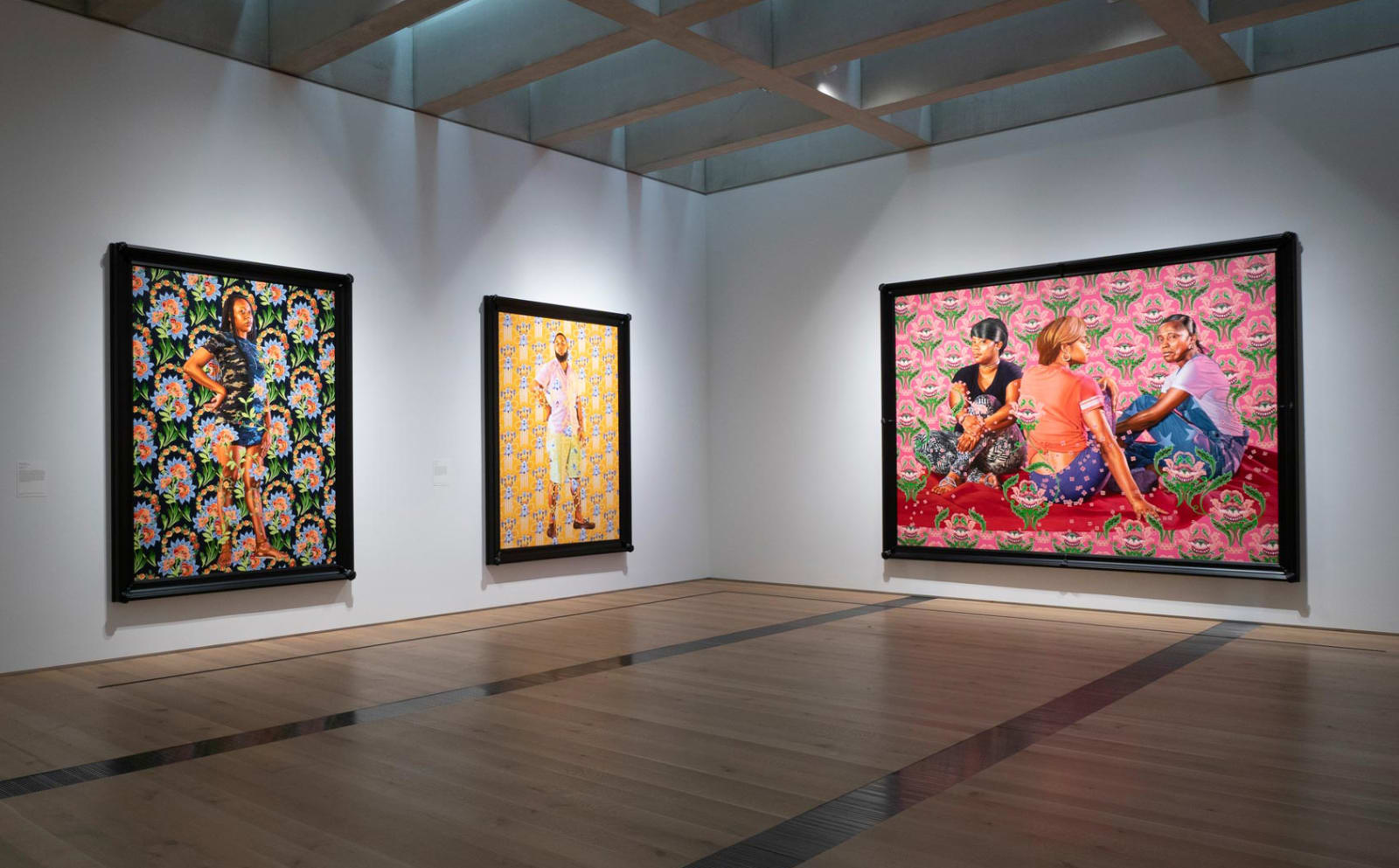 <p>Installation view: 'Kehinde Wiley: Saint Louis', Saint Louis Art Museum, Saint Louis, MO (2018-2019).</p>
