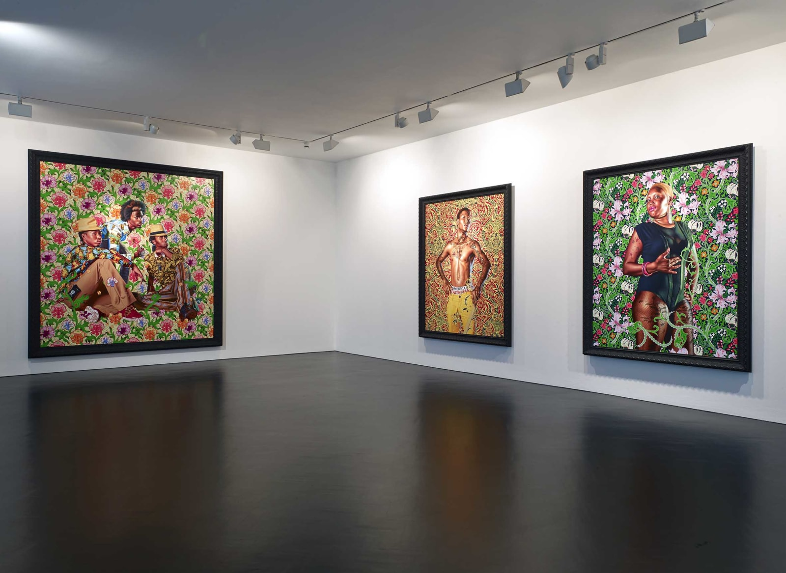 <p>Installation view: 'Kehinde Wiley: The World Stage: Jamaica', Stephen Friedman Gallery, London (2013).</p>