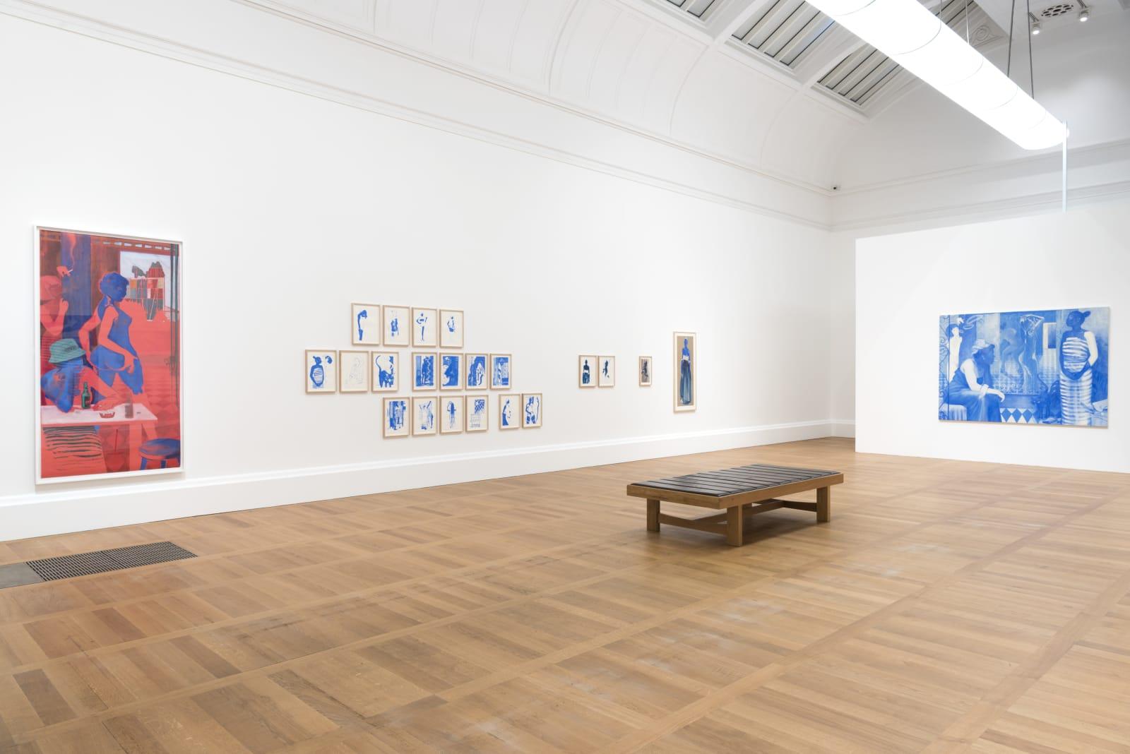 <p>Installation view: 'Art Now: Lisa Brice', Tate Britain, London (2018).</p>