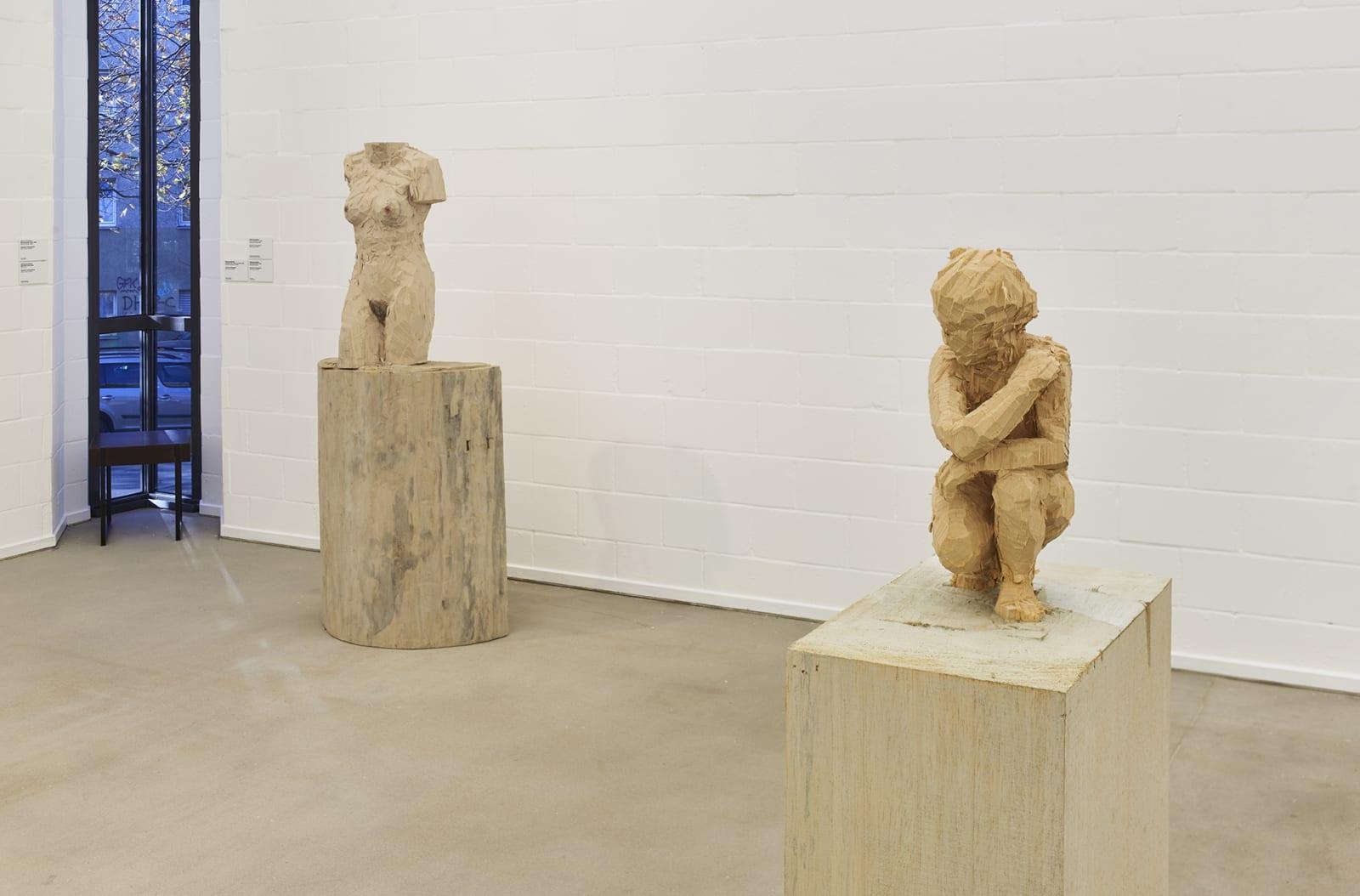 <p>Installation view: 'Stephan Balkenhol', Lehmbruck Museum, Duisburg (2020-2021).</p>