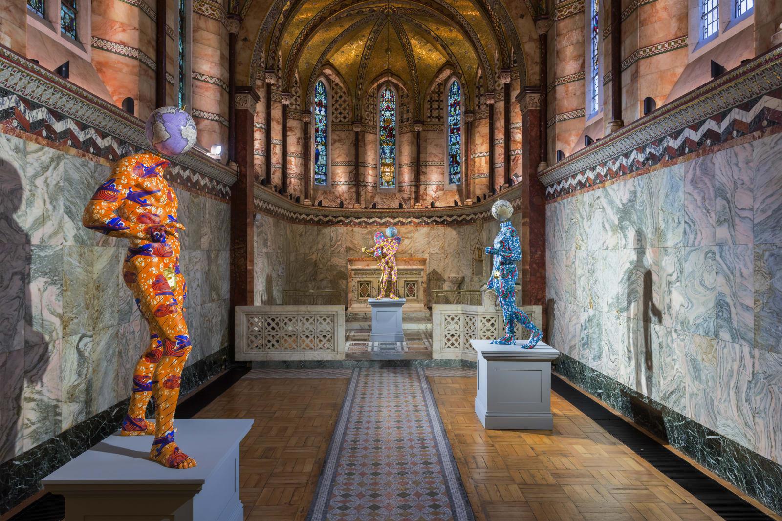 <p>Installation view: 'Yinka Shonibare MBE', Fitzrovia Chapel, London (2018).</p>
