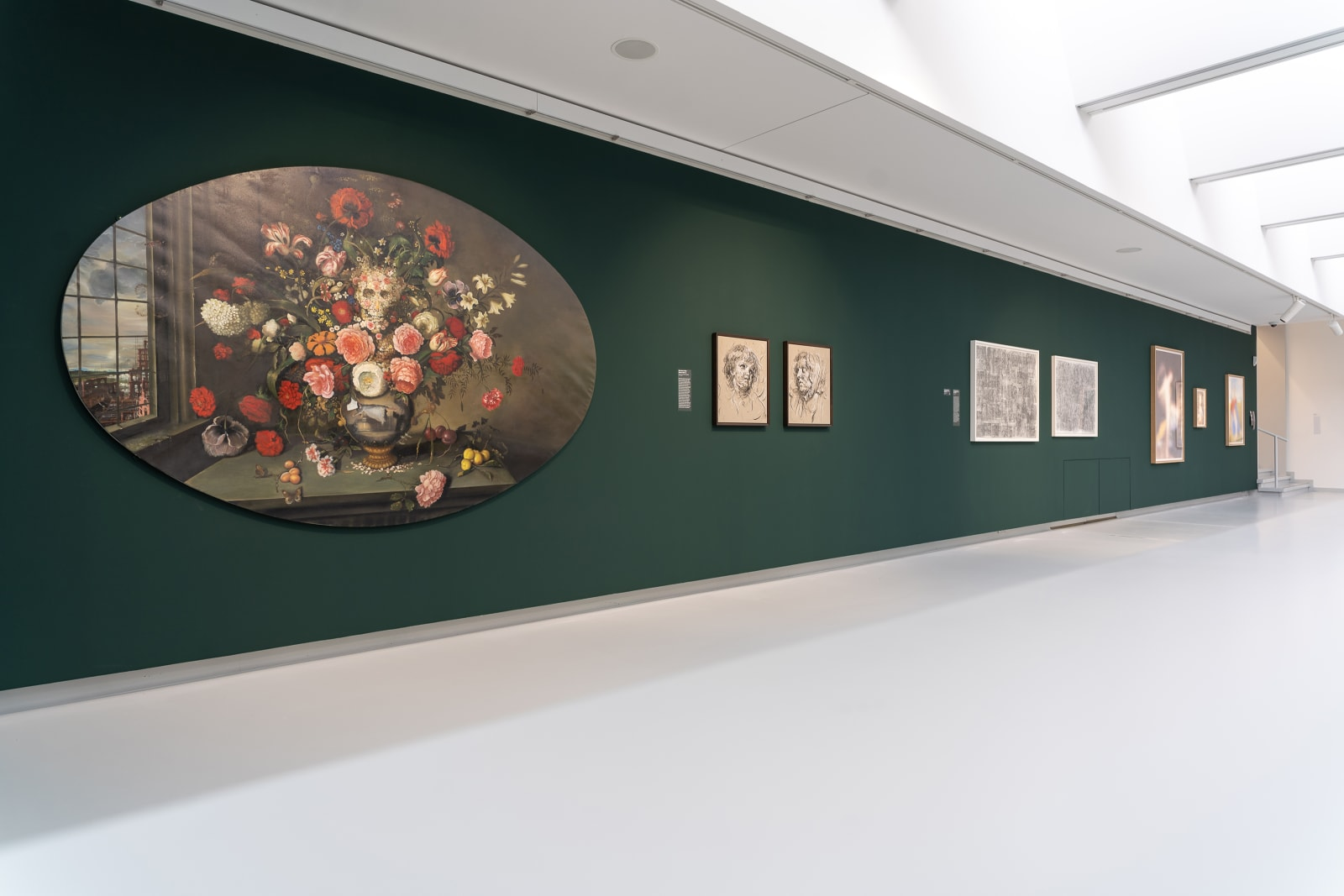 <p>Installation view:'Comeback - Art Historical Renaissances', Kunsthalle Tübingen,<span>Tübingen (2019).</span></p>