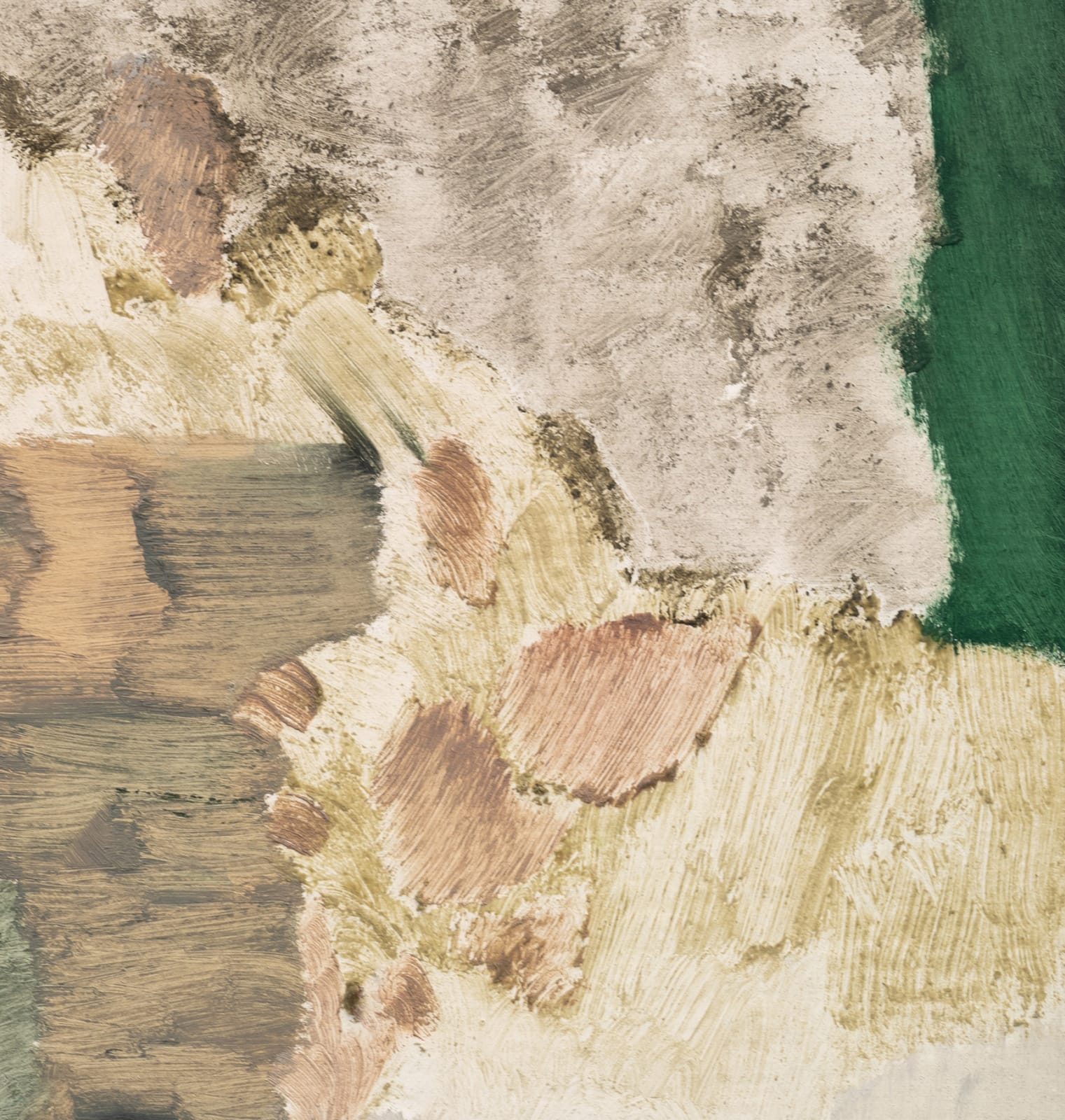 "<p>Andreas Eriksson, <em>Bräckt</em>, 2019. Detail.</p><h3>""Territories of the finished tapestries might be distinguished by a particular knotted texture or the stands of long fibre sprouting from the surface. Andreas has described the tapestries as 'existential landscapes'. We might also see them as a conceptual extension of painting in which the picture migrates to the canvas itself."" </h3><p><strong>- Hettie Judah on Andreas Eriksson, 2020</strong></p>"