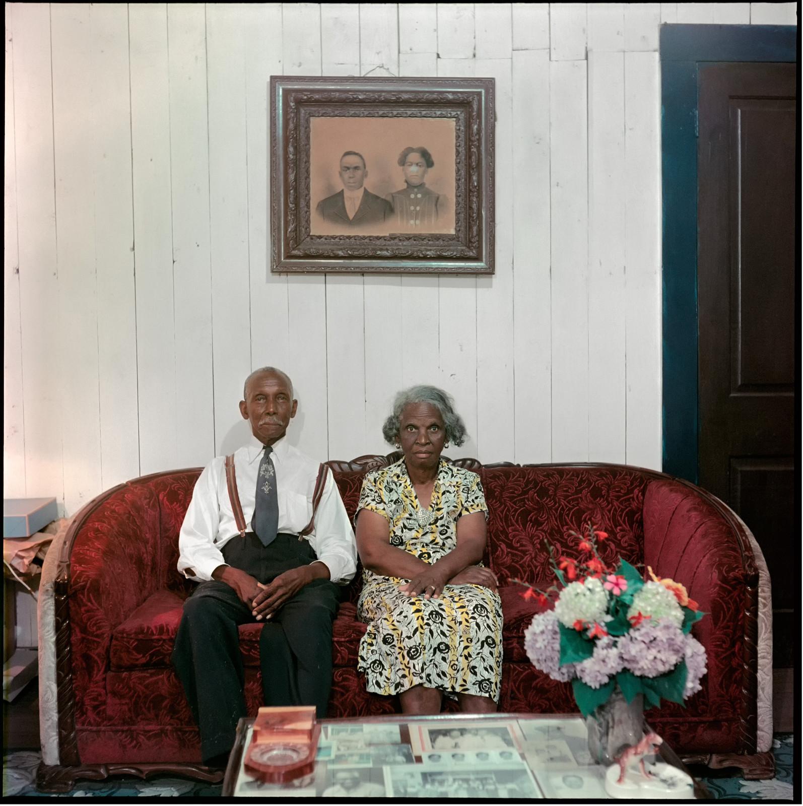 Mr. and Mrs. Albert Thornton, Mobile, Alabama, (37.003), 1956