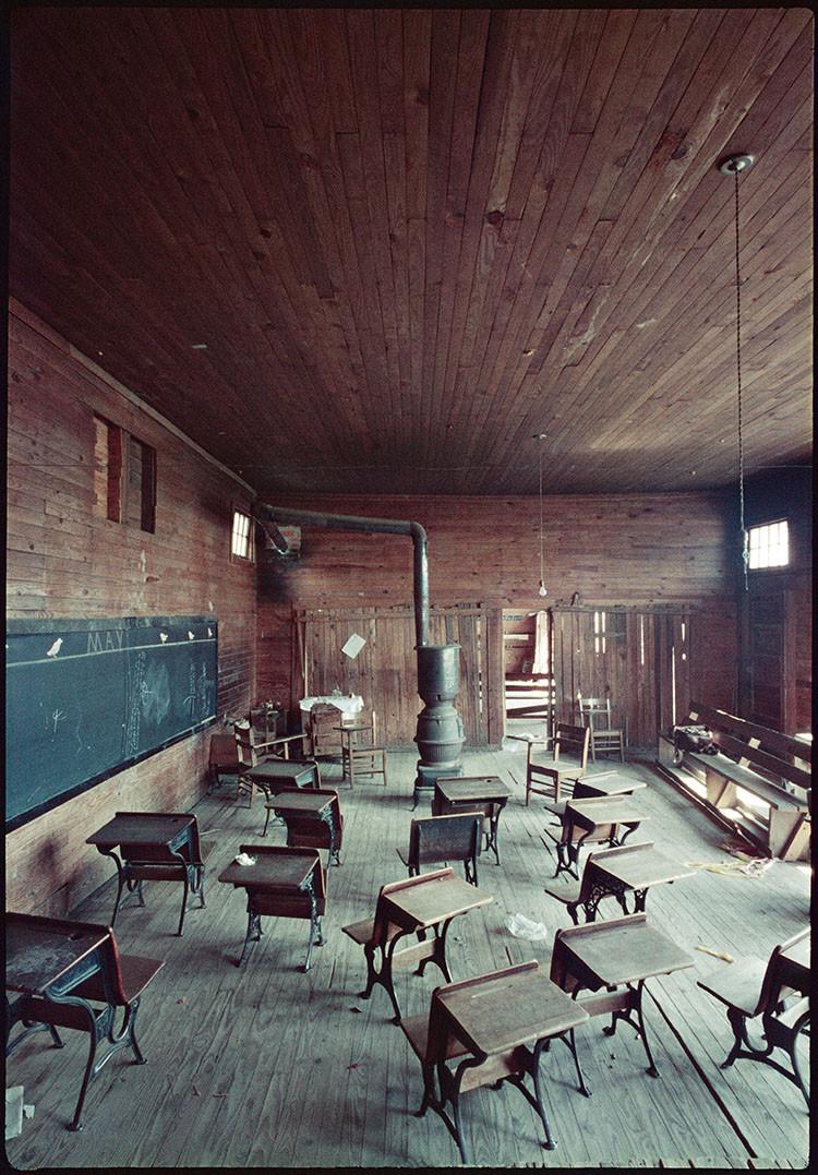 Black Classroom, Shady Grove, Alabama, (37.006), 1956