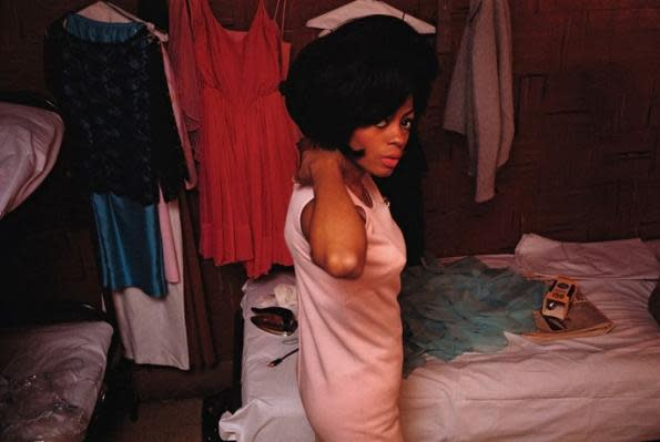 The Supremes (Diana Ross in hotel room), 1965