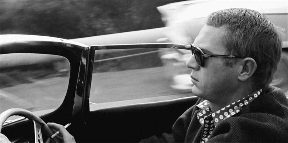 Sid Avery, Driving Through Nichols Canyon, 1960
