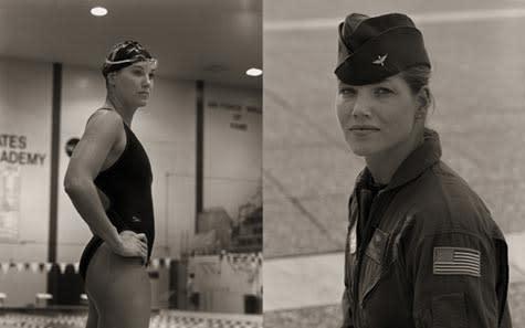 """""""Robin Cadow, Swimmer, USAFA, 2001"""