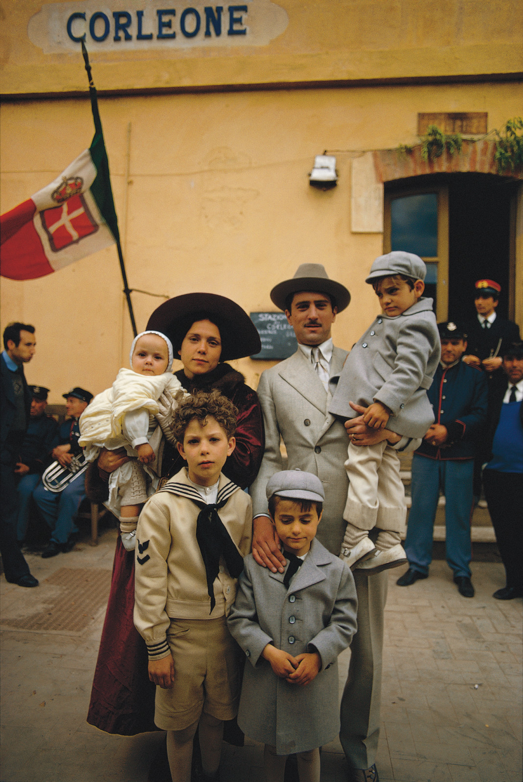Corleone Family Arrives in Sicily, Godfather II, 1973