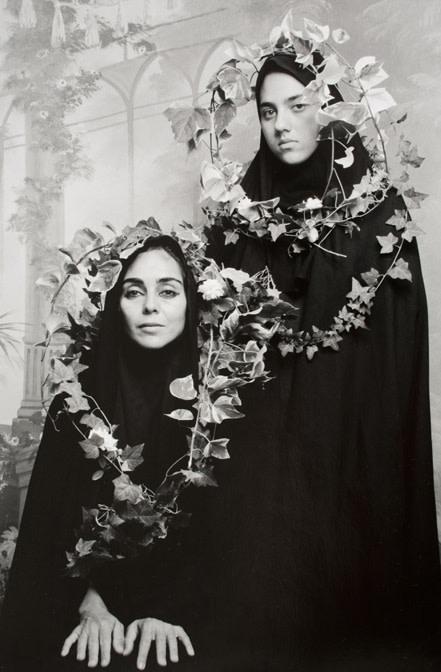 "Shirin Neshat, Untitled (from ""Women of Allah"" series) from Elton John AIDS Foundation Photography Portfolio 1, 1995"