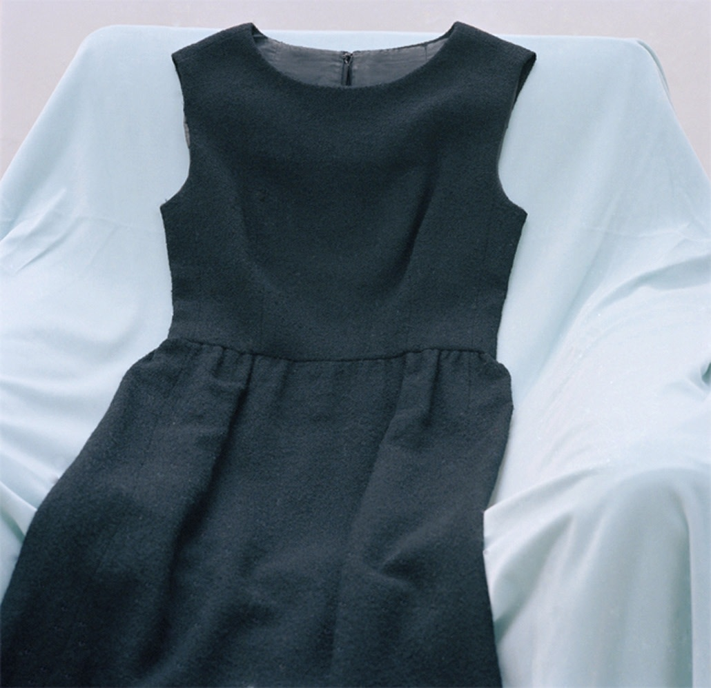Reclining Black Dress, 2007
