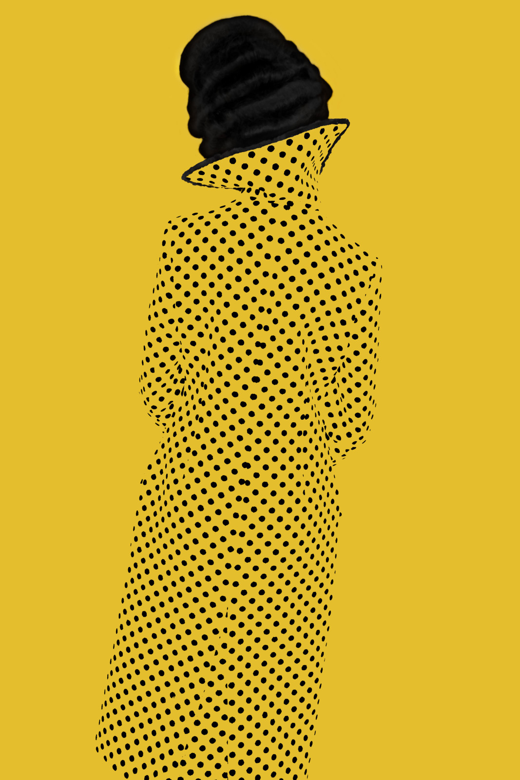 Erik Madigan Heck, Without a Face (Yellow), Old Future, 2013