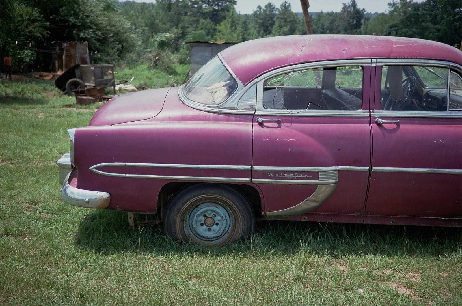 Magenta Car, Havana, Alabama, 1976