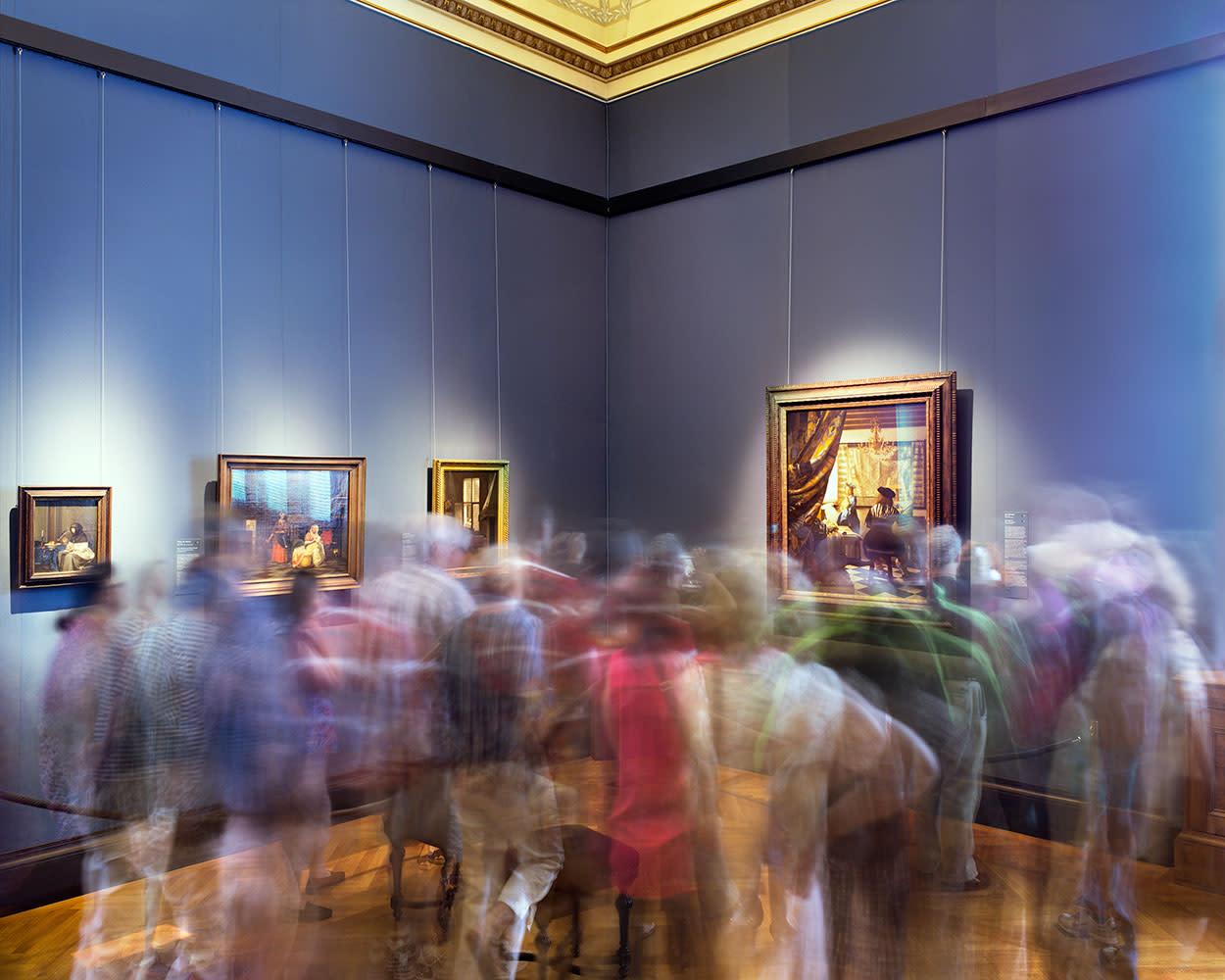 Vermeer's The Art of Painting, Vienna Kuntsthistorisches Museum, 2014
